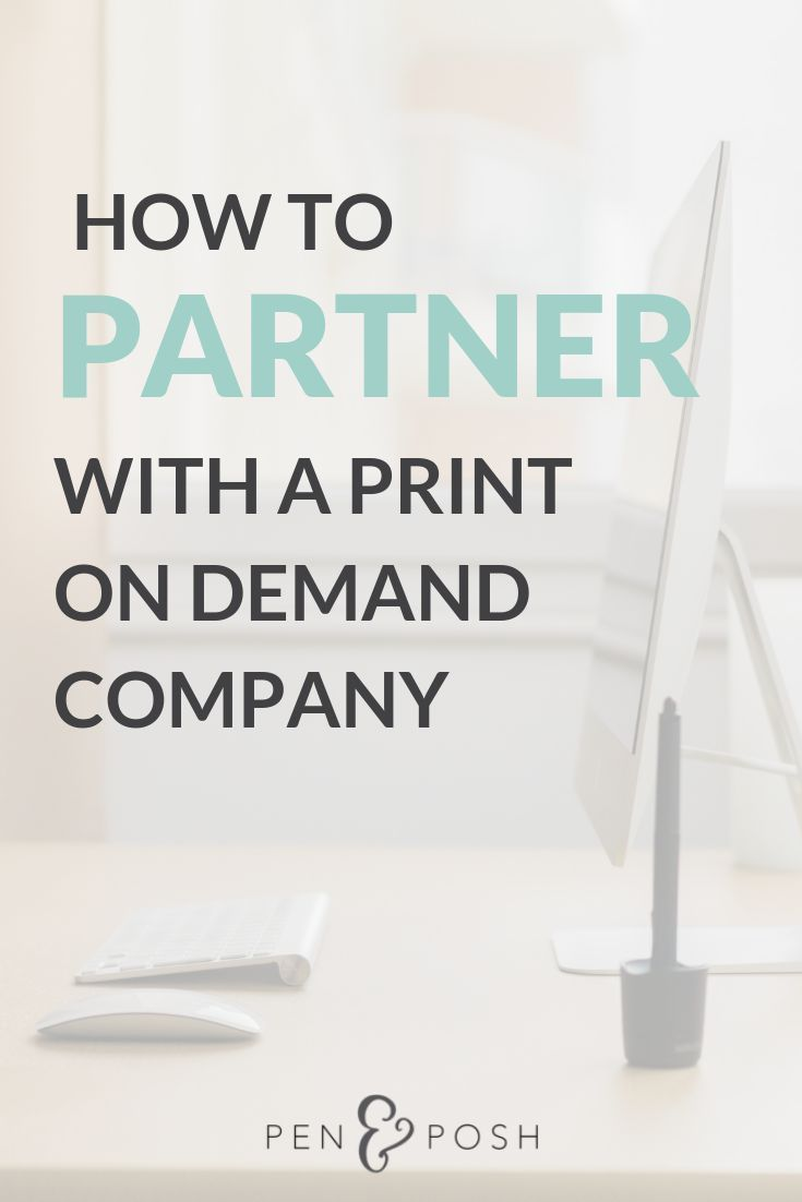 How To Start Your Own Print On Demand Business Printing Business Etsy Business Print On Demand