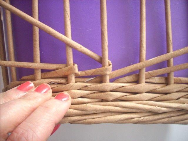 Moje pletení z papíru - Fotoalbum - NÁVOD - VZORY PLETENÍ - NÁVOD - NA VERTIKÁLNÍ OBTÁČENÍ