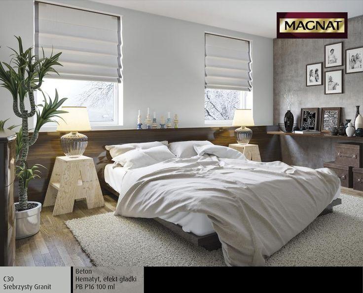 Metallici MAGNAT Style w Sypialni. Metallici MAGNAT Style bardzo dobrze sprawdzi się np. w sypialni z oknami wychodzącymi na zachód lub jadalni zbierającej swych domowników o różnych porach dnia.
