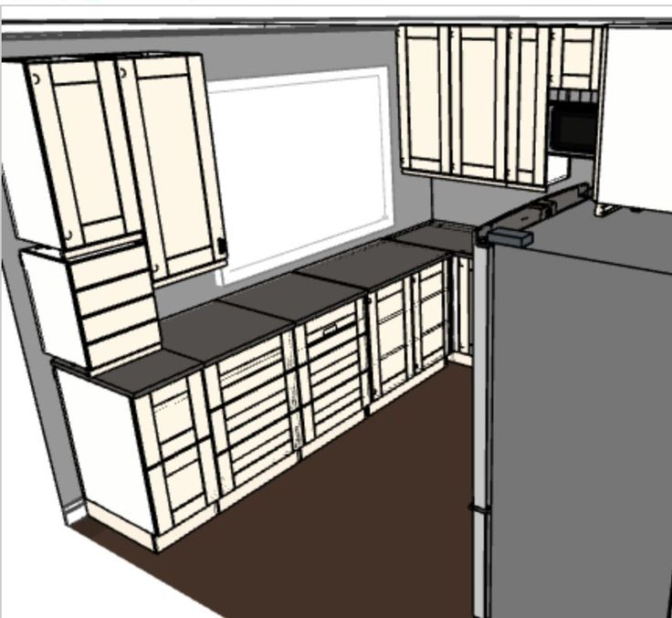 #IKEA Kitchen Planner   My Kitchen Design With The #Grimslov Doors.