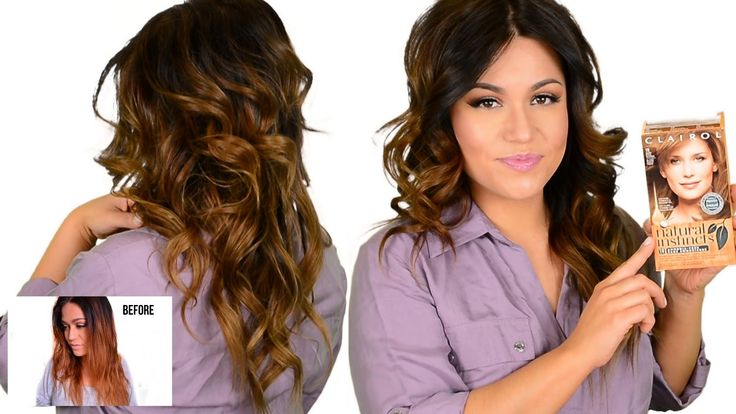 DIY DRUGSTORE Tone Brassy Orange, Ombre & Highlighted Hair. Great tips for natural girls with dark hair. How to tone your at home dye