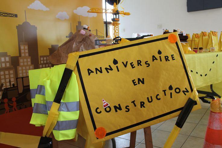 Anniversaire en construction!