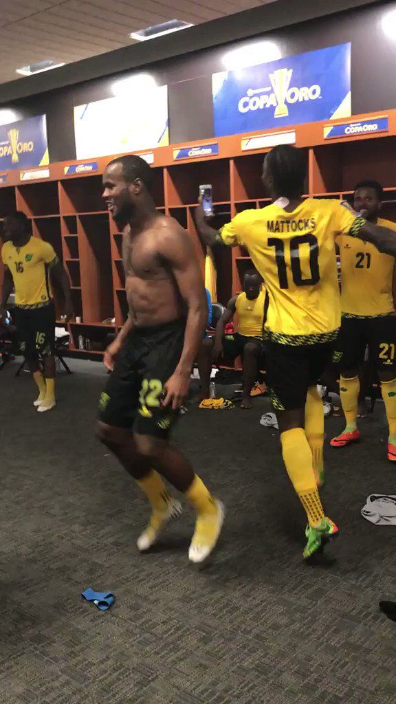 Kemar Lawrence's 25-yard free kick in the 88th minute helped Jamaica advance to the Gold Cup final with a 1-0 upset victory over Mexico