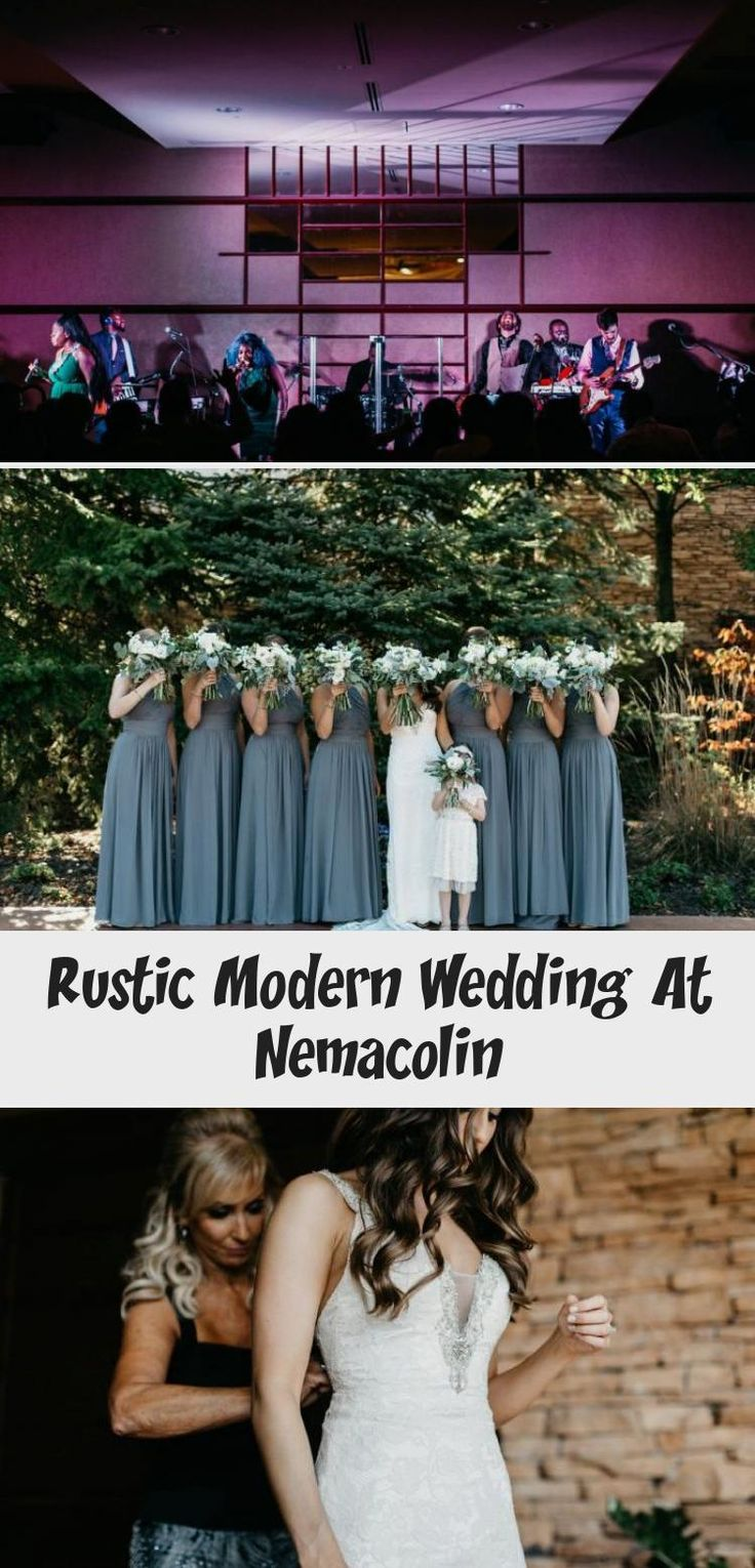 Steel Blue Bridesmaids Dresses: Rustic Modern Wedding at Nemacolin from David McCandless Photography featured on Burgh Brides. See more rustic modern wedding ideas at burghbrides.com! #rusticwedding #modernweddingideas #bridesmaidsdresses #dustybluebridesmaidsdresses #weddingpartyphotoideas