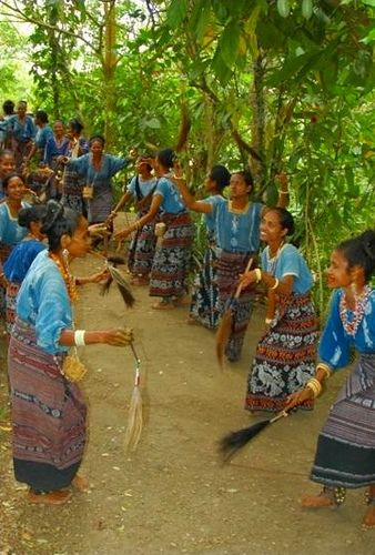 Traditional Dancing, Dokar Village, Flores, Indonesia