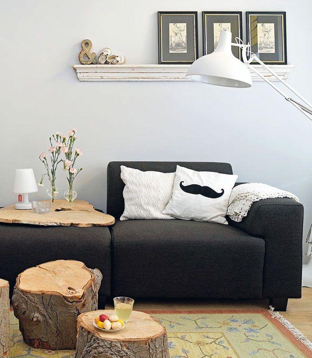 Snorrenkussen - Mustache pillow Kijk op www.101woonideeen.nl #tutorial #howto #diy #101woonideeen #snor #mustache #kussen #pillow
