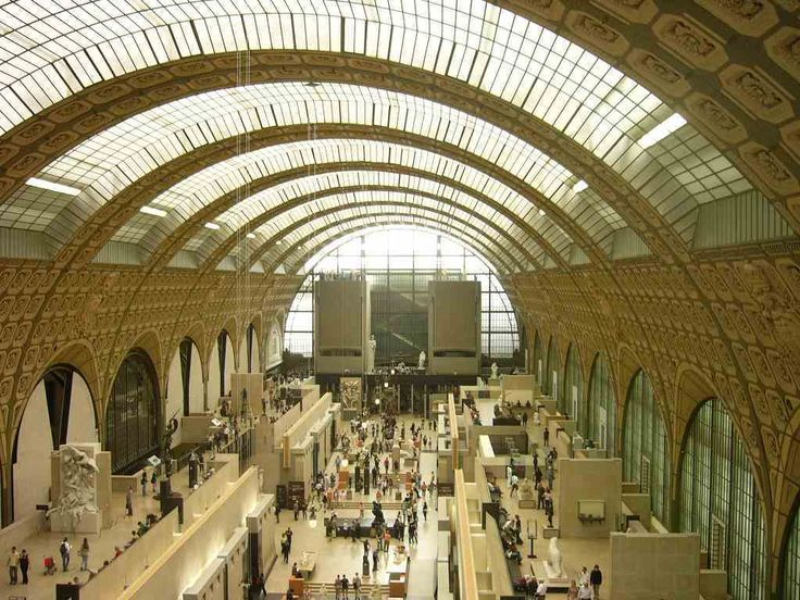 The Musée d'Orsay is a museum located west of the latin Quater :on the left bank of the Seine. It is housed in the former Gare d'Orsay, a Beaux-Arts railway station built between 1898 and 1900. The museum holds mainly French art dating from 1848 to 1915, including paintings, sculptures, furniture, and photography. It houses the largest collection of impressionist and post-impressionist masterpieces in the world, by painters including Monet, Manet, Degas, Renoir, Cézanne, Seurat, Sisley…