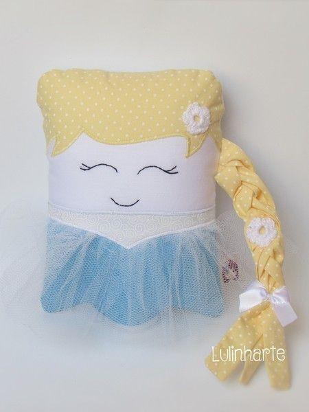 Mini bonequinhas: Elsa