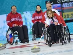 Sochi 2014 Paralympic Games - Wheelchair Curling Day 7