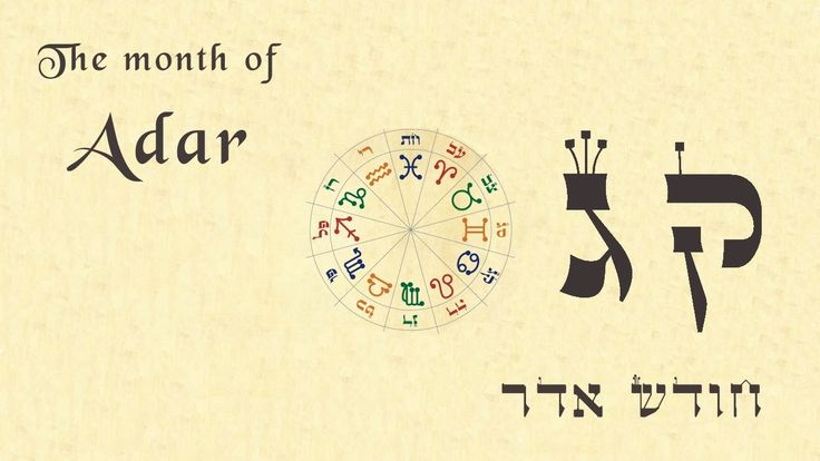The Month of Adar - What can be achieved - What to work on - Rabbi Alon ...