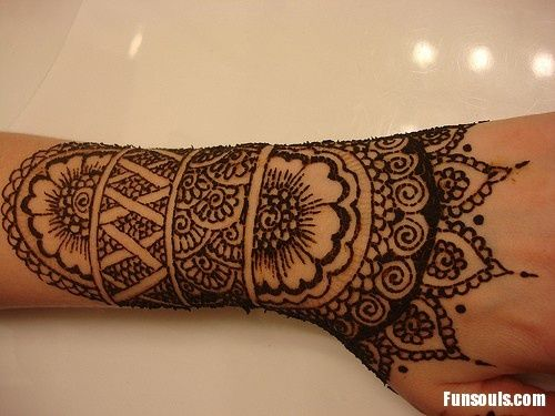 Mehndi Tattoos For Arms : Best henna tattoo arm images tattoos