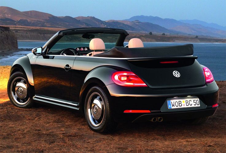 2013 VW Beetle Convertible - I want!