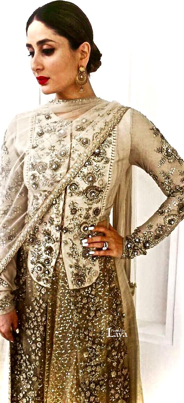 Kareena Kapoor Khan in Sabyasachi Couture. Summer 2016
