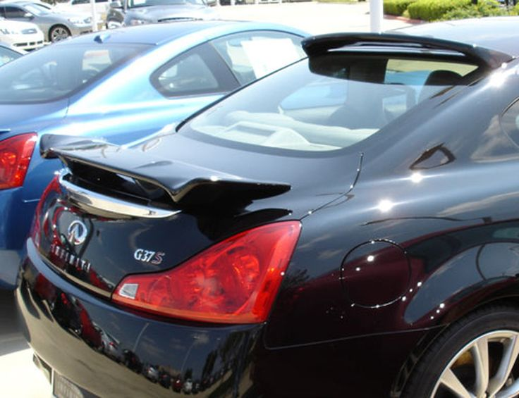 20082013 Infiniti G37 Coupe Spoiler Custom Style in 2020
