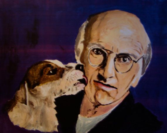Larry David 11x14 Print of Acrylic Portrait by RAFPopArtwork, $18.00