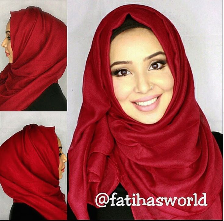 Simple hijab tutorials great for school or work ft. The Muslimah Boutiqu...