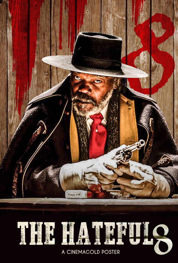 Samuel L. Motherfuckinf Jackson in the Hateful Eight