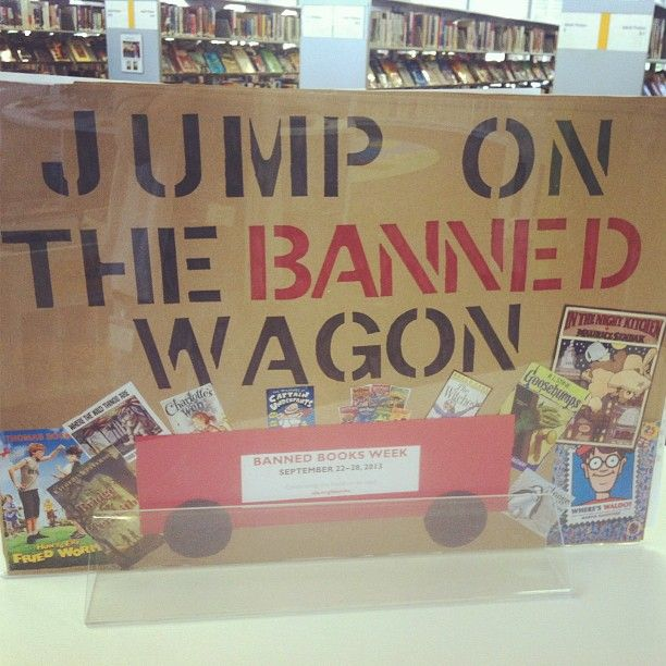 Jump on the Banned Wagon Banned Books Week
