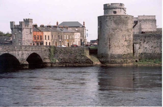 St Johns Castle Limerick.