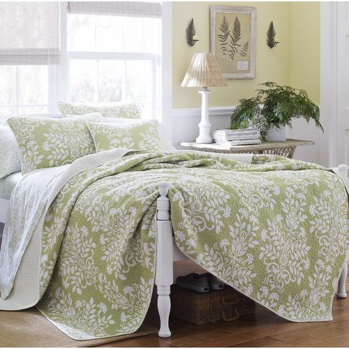 Found it at Joss & Main - Ivana 3-Piece Reversible Coverlet Set by Laura Ashley