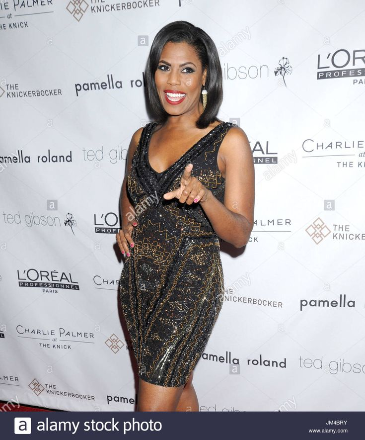 Download this stock image: Omarosa Manigault Stallworth. VIP pals come out to fete celebrity hair stylist Ted Gibson's 50th birthday, held at the Knickerbocker Hotel Rooftop on Times Square in NYC - JM4BRY from Alamy's library of millions of high resolution stock photos, illustrations and vectors.