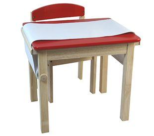 Mesa com rolo. www.alugarparabrincar.com