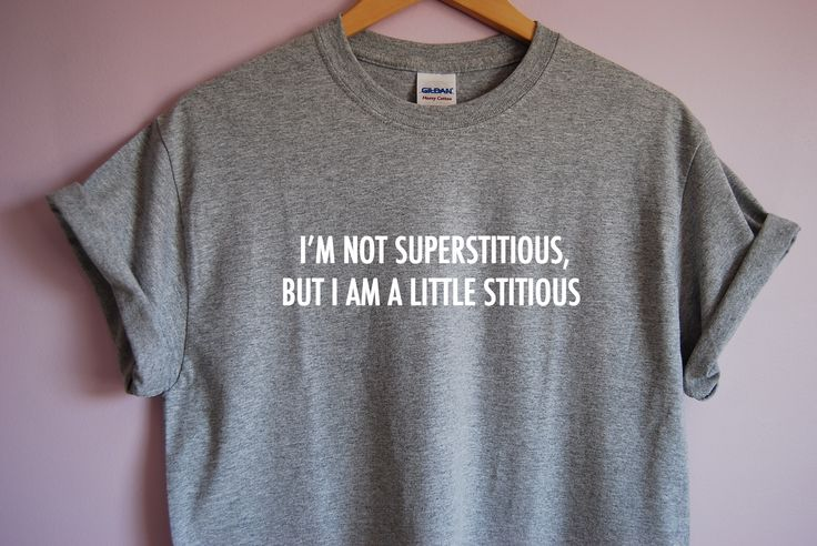 The Office I'm Not Superstitious But I Am A Little Stitious T-Shirt sold by TVTees. Shop more products from TVTees on Storenvy, the home of independent small businesses all over the world.
