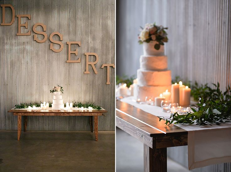 Love this gorgeous dessert table.