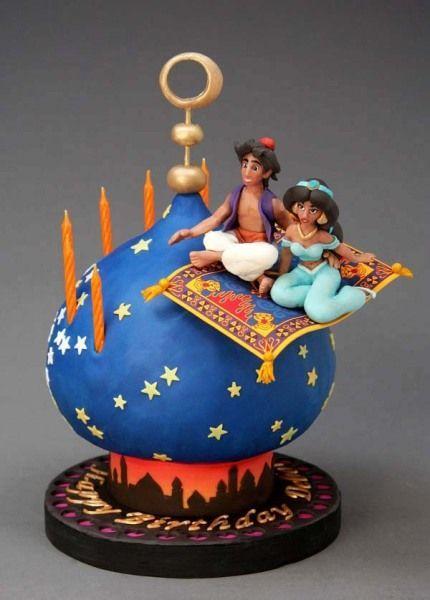 Aladdin Cake - Para todos los suministros de decoración de tortas, visite craftcompany.co.uk:
