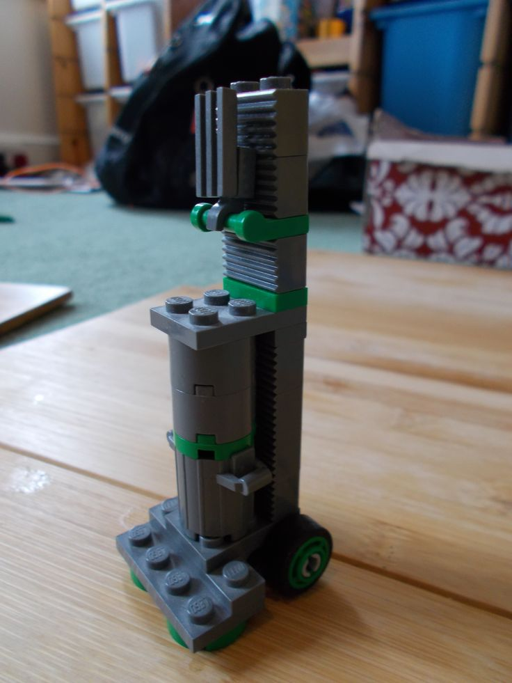 One of my most beloved Lego creations, a model of a Dyson vacuum cleaner.