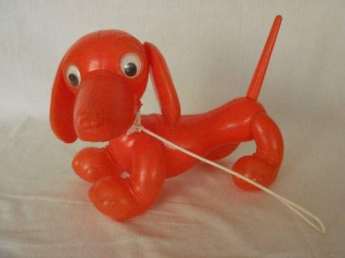 Tiny Plastic Dog
