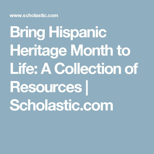 23 best Hispanic Heritage images on Pinterest | Spanish classroom ...