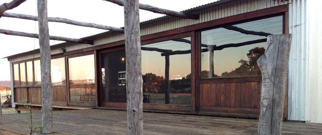 Shearing shed conversion, Gingin, Western Australia