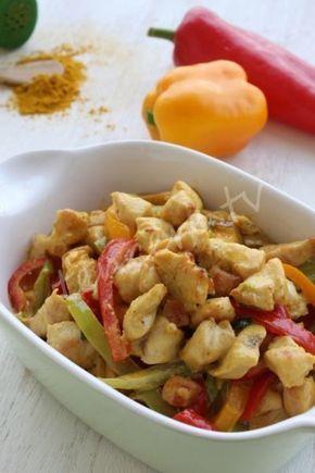Cremiges Hühnerrezept mit Currysoße   – yemek