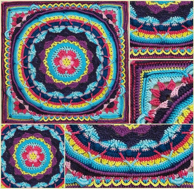 Hier vind je de Nederlandse vertaling van 'Sophies Garden'. Sophies Garden is het ontwerp van Dedri van www.lookatwhatimade.net en is met toestemming van haar vertaald. Wil je het orginele engelse patroon gebruiken klik dan hier voor Sophies Mandela en hier voor Sophies Garden square.Patroon week 1.