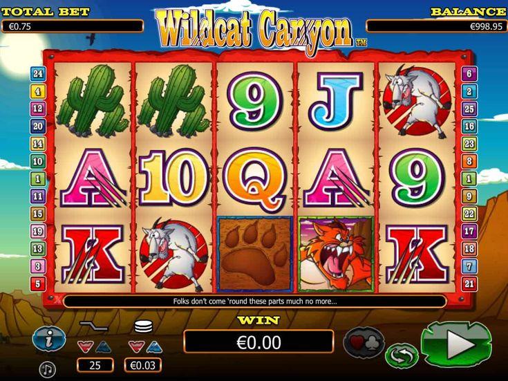 Drehe jetzt kostenlos Spielautomaten Spiel Wildcat Canyon - http://spielautomaten7.com/wildcat-canyon/