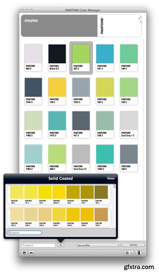 Pantone Color Manager 2.1.0 MacOSX