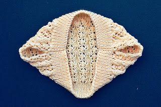 basta un filo........ lavori a maglia per bambini: Uno scaldaspalle facile facile..........