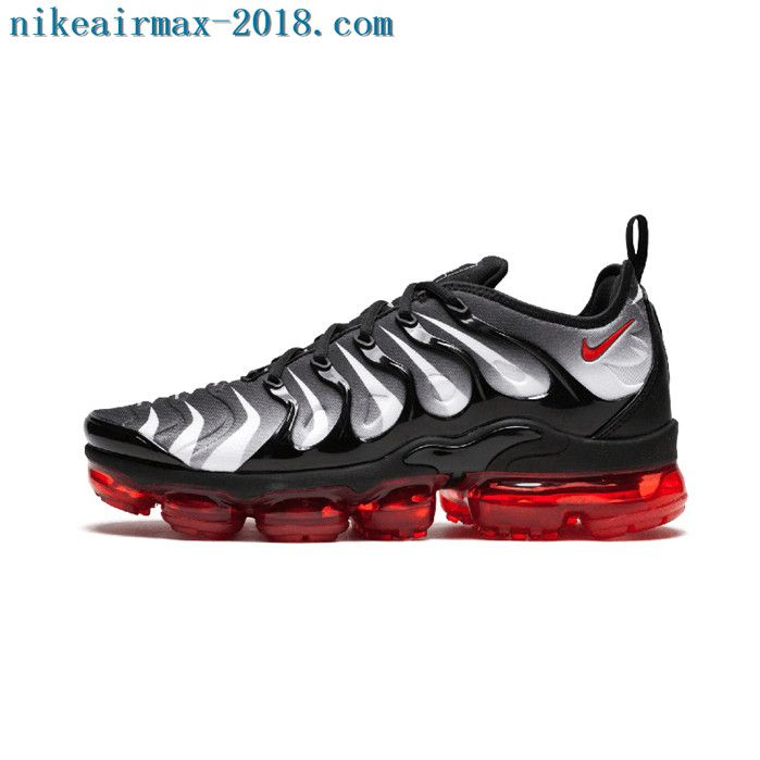 fb1e1b0b0c4d6f 2018 Nike Air Vapormax Plus Mens Sneakers Red Shark Tooth
