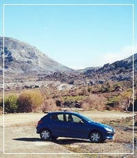 "Rent a car in Crete and enjoy the ""freedom of Crete"" driving your own car."