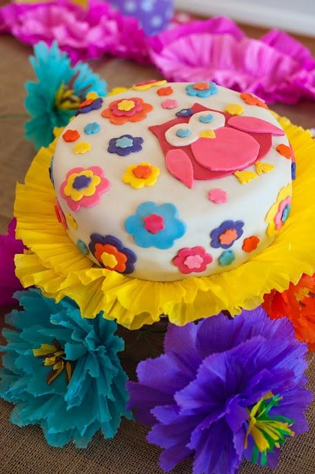 Decoraci n con b hos tortas de cumplea os pinterest - Decoracion con buhos ...