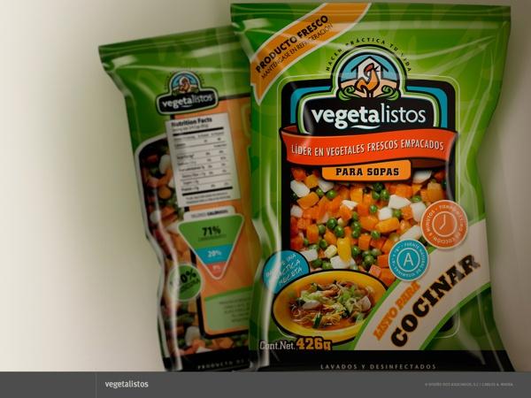 Packaging para Vegetalistos by Carlos A. Rivera, via Behance