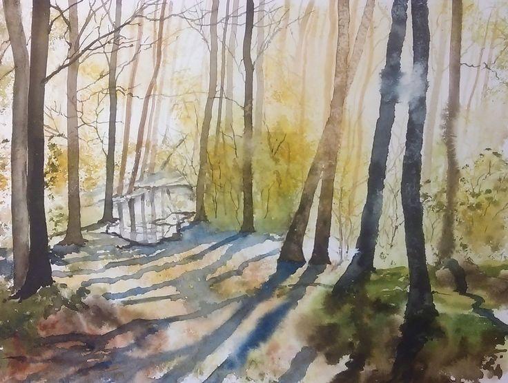 W lesie... | zoom | digart.pl