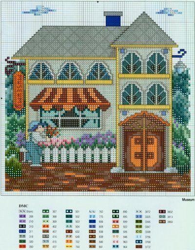 Houses.Casas.Villas.Maisons - LovingCrossStitch - Picasa Webalbums