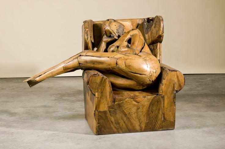 Sitting woman, 1987,  Manolo Valdés