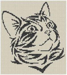 Grilles Jack Russel Et Chats Koty Krzyżyki Cross Stitch Cross