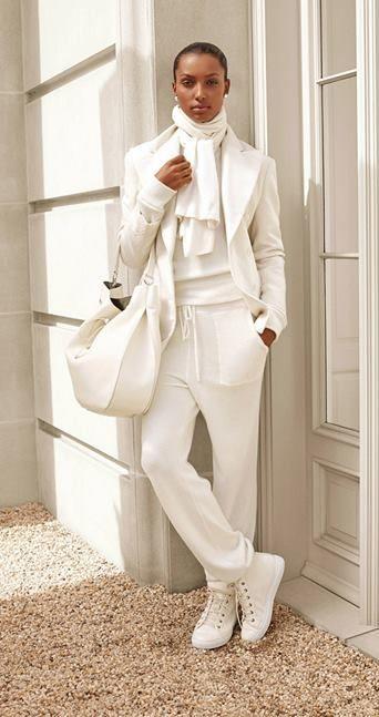 Affirmez votre style en blanc hivernal avec la Ralph Lauren Collection
