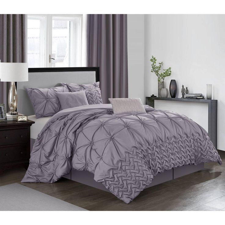 Grand Avenue Zalie 7-Piece Comforter Set (White - King)
