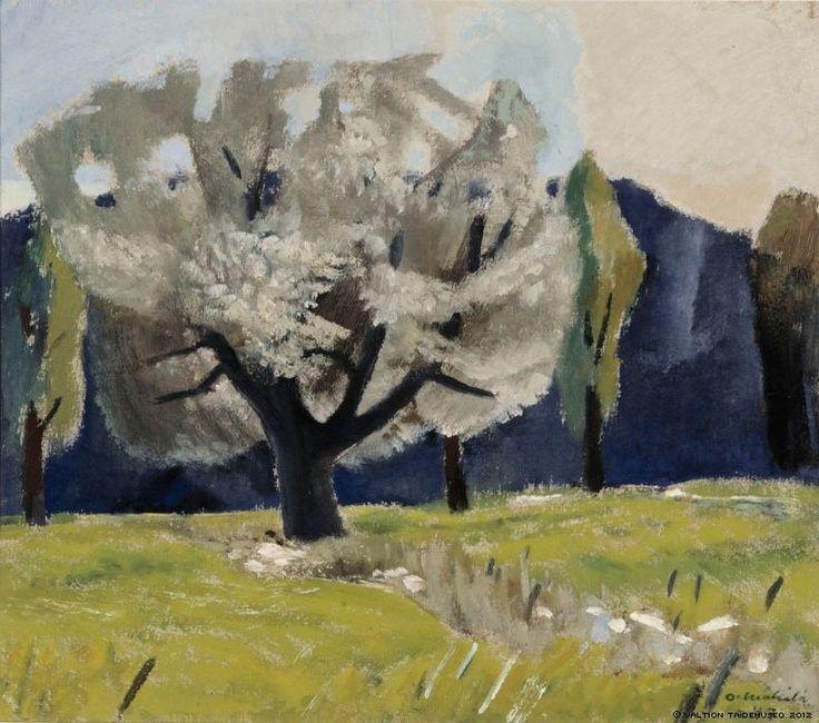 'White poplar', 1947 - Otto Mäkilä (1904–1955)