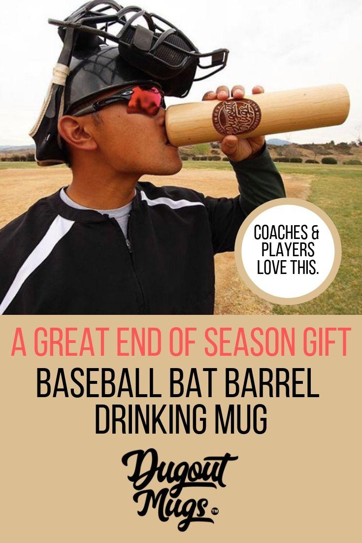 A baseball gift that baseball people love! Customize a bat mug, or